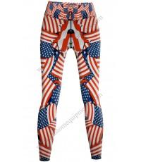 USA Flag Tights
