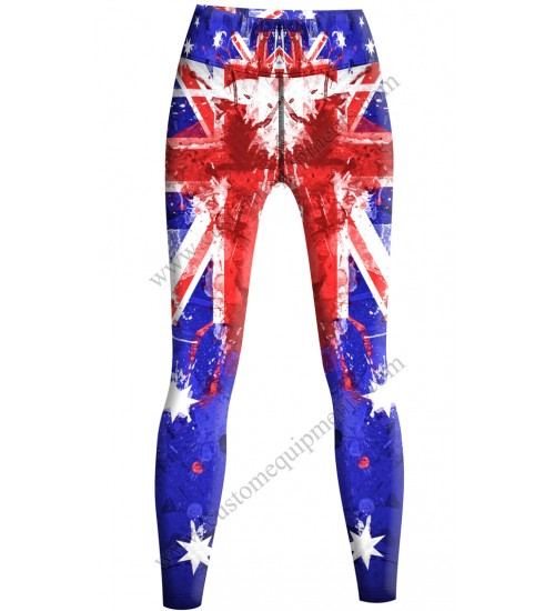 Australia Flag Tights