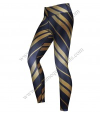 Aquatic Zebra Leggings