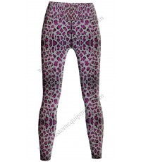 Pink Leopard Tights