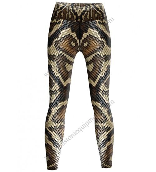 Snake Print Tights