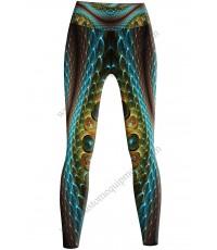 3D Snake Leggings