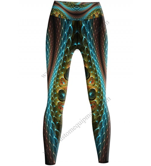 3D Snake Leggings
