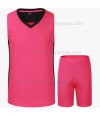 Pink Basketball Uniforms