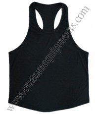 Black Gym Singlet