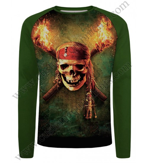 Skull Green Shirts