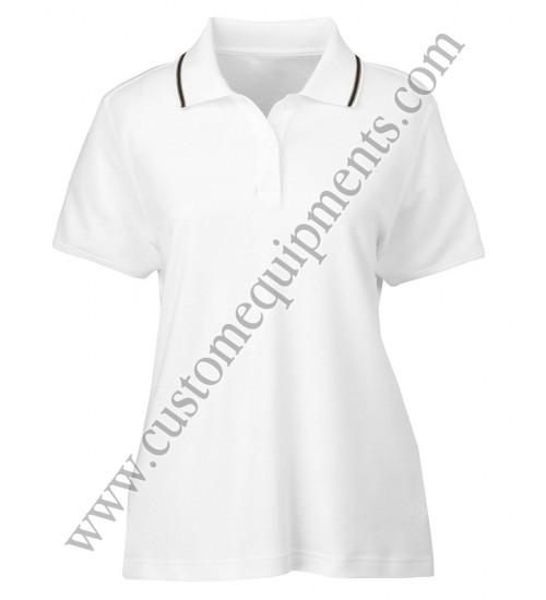 White Women Polo Shirts